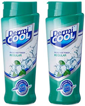 Dermicool Prickly Heat Powder - 150 g (Pack Of 2) Therapeutic Skin Care at amazon