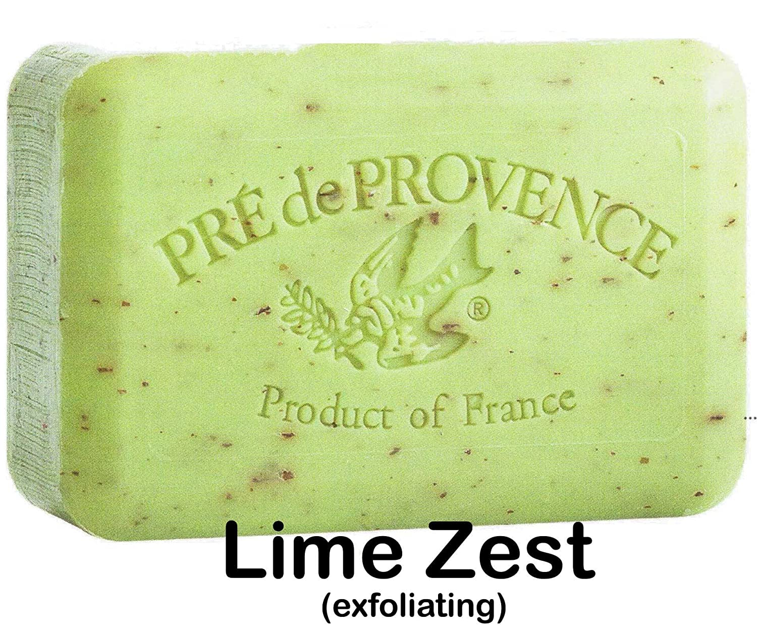 Case of 12 Pre de Provence Lime Zest 250 gram shea butter extra large soap bars