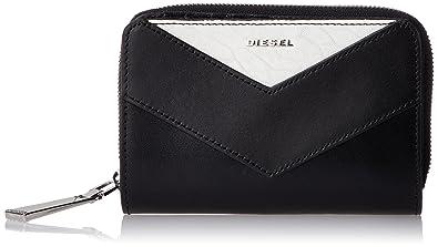 52e9465900e1 (ディーゼル) DIESEL レディース 財布 二つ折り X05203P1557 UNI ブラック H1532