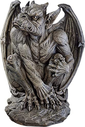 Design Toscano JE11211701 Silas The Sentry Gargoyle Decor Statue