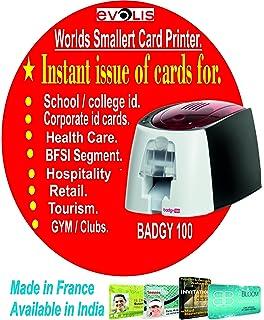 Badgy 944761 - Impresora, 100 Tarjetas