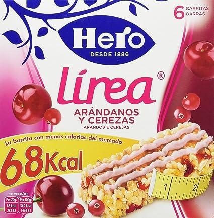 Hero Muesly Linea Arandanos Cereza - Pack de 6 x 20 g - Total: 120