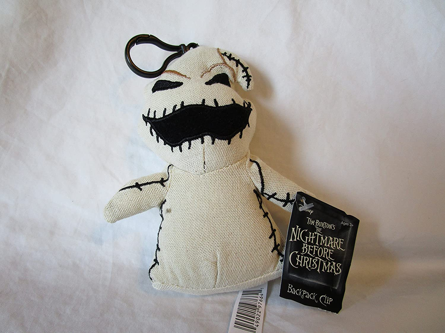 Jack Plush Collectible Bag Clip The Nightmare Before Christmas Disney