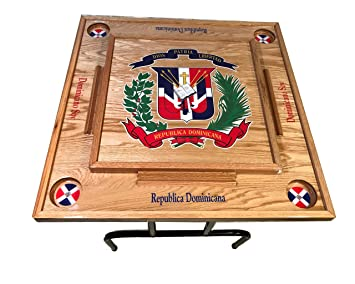 Dominica Republic Domino Table Top with the Escudo
