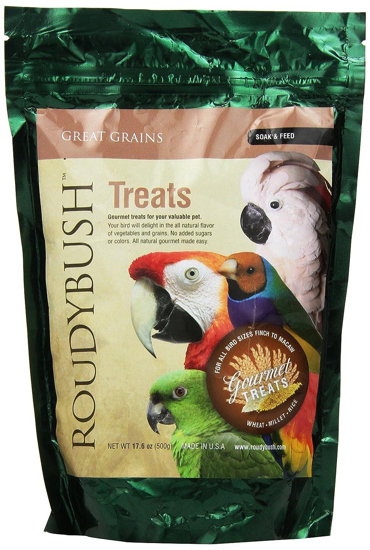 Roudybush Great Grains Soak and Feed Bird Food, 17.6-Pound