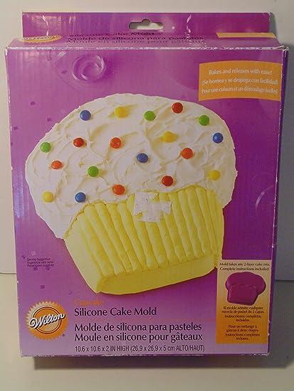 Wilton Giant Cupcake Silicone Cake Mold