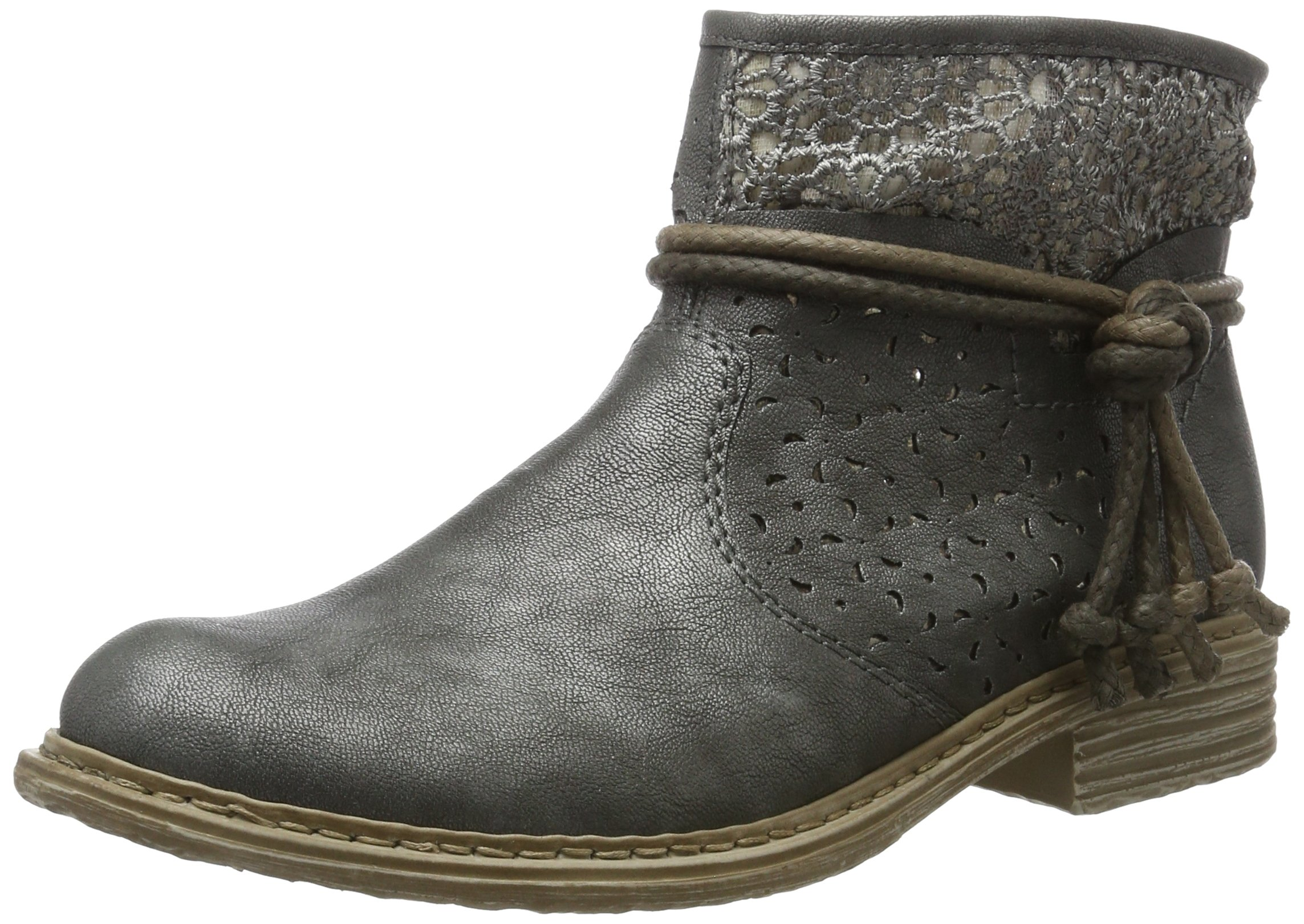 Rieker Womens Summer Boots Lead/Dust Size 10.5 B(M) US