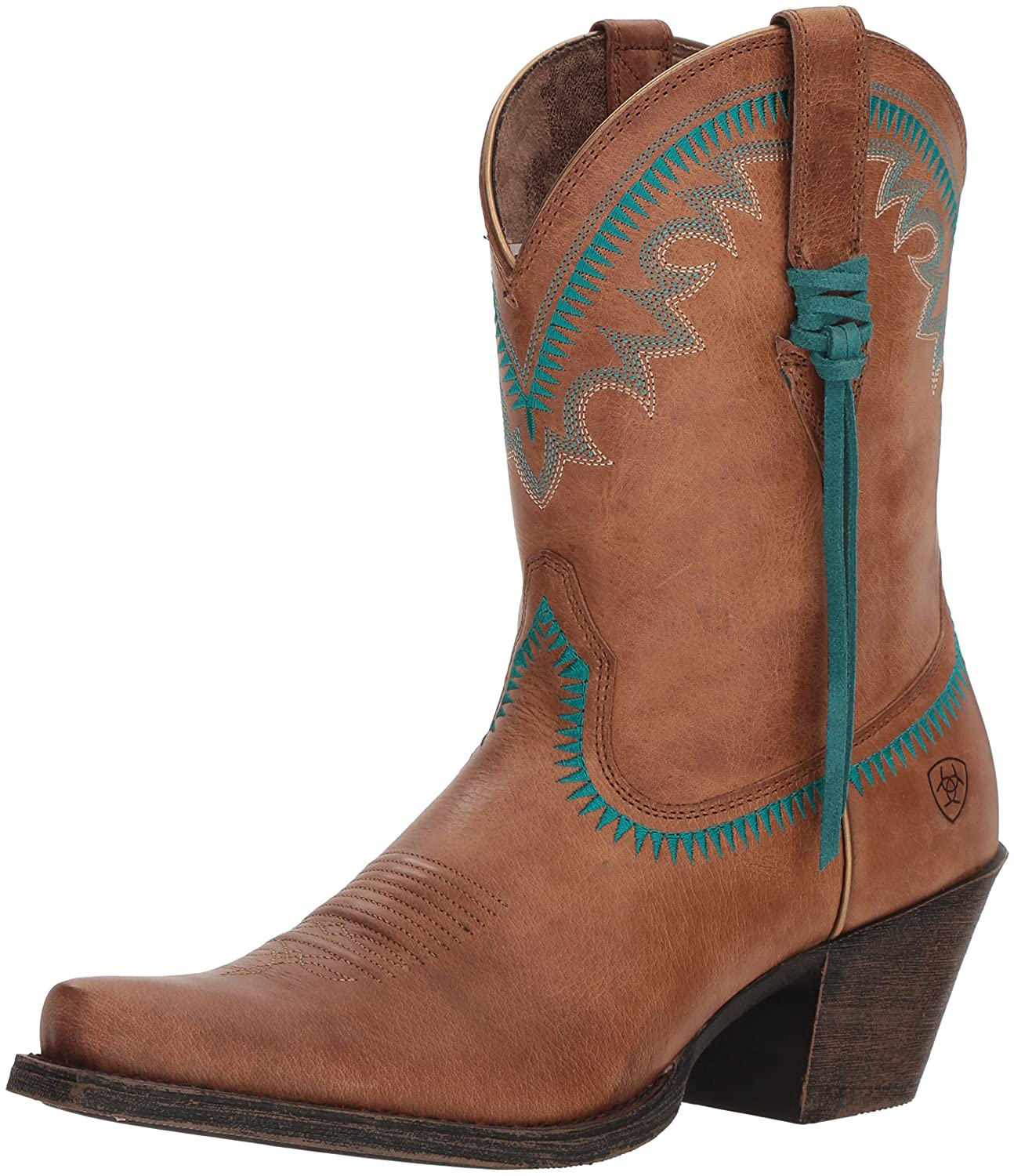 Ariat Women's Round up Aztec Western Boot B076MJSP3P 9.5 M US|Desert Sand