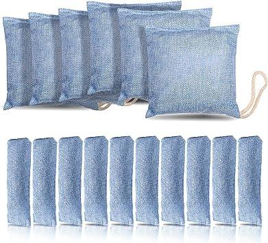 Amazon.com: Colorgo bolsa purificadora de aire de carbón de ...
