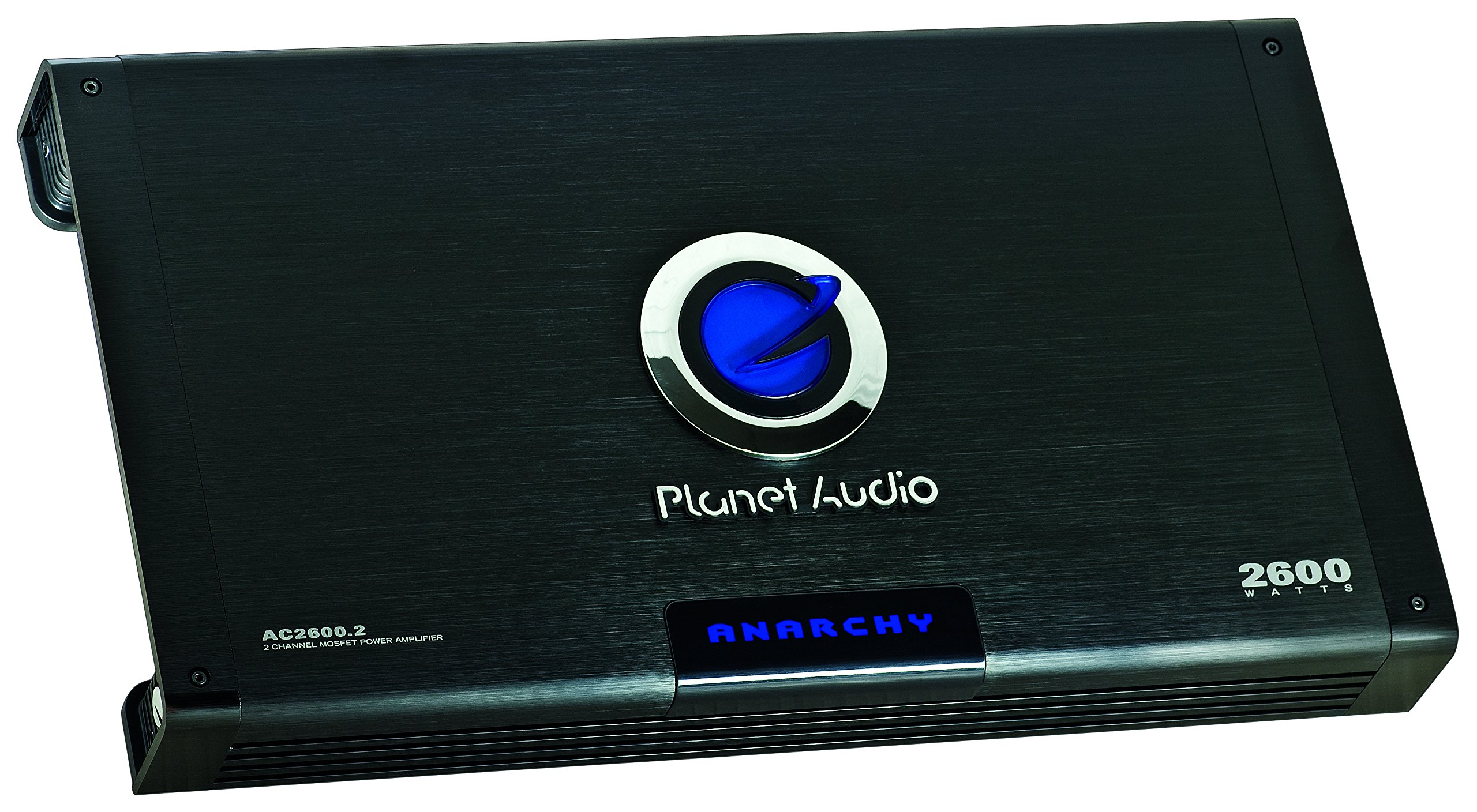 Planet Audio AC2600.2 Anarchy 2600 Watt, 2 Channel, 2/4 Ohm Stable Class A/B, Full Range, Bridgeable, MOSFET Car Amplifier with Remote Subwoofer Control by Planet Audio (Image #3)