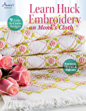 Learn Huck Embroidery on Monk's Cloth (Annie's Needlework Book 291023)
