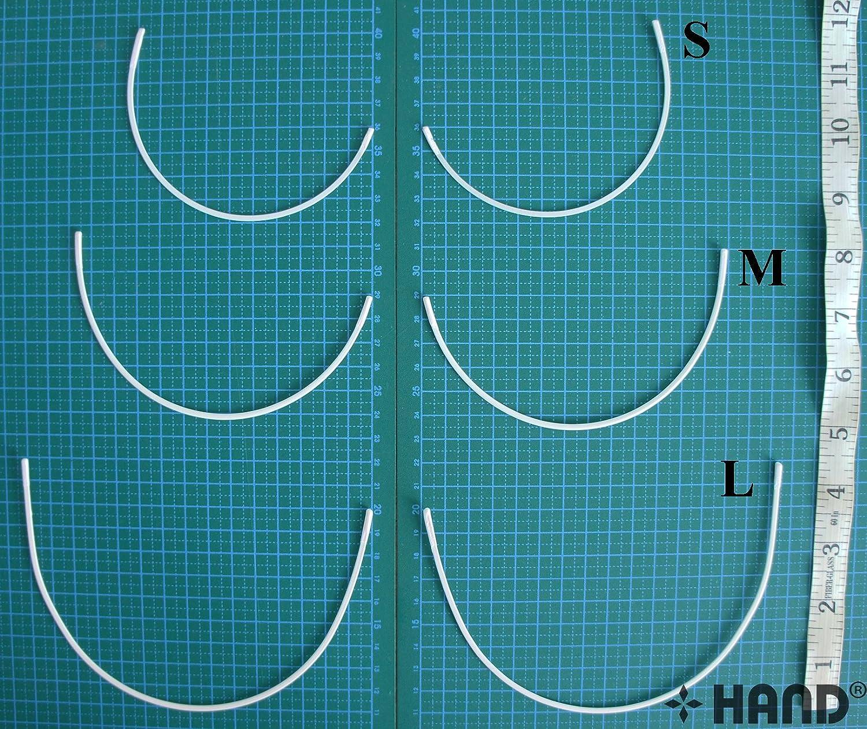 Ferretti in metallo reggiseno taglia S, confezione da 3 paia HAND