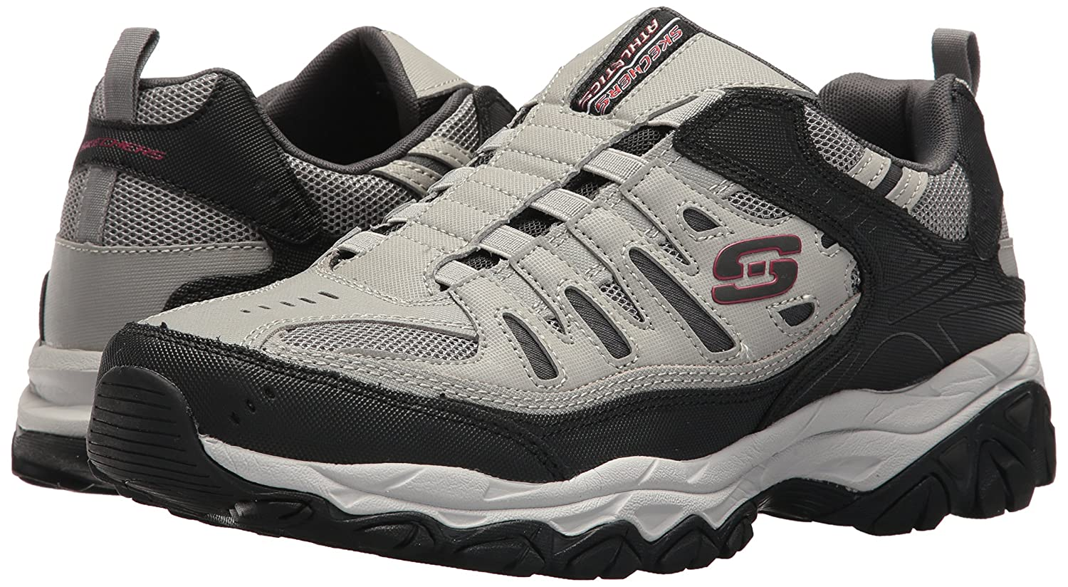Skechers-Afterburn-Memory-Foam-M-Fit-Men-039-s-Sport-After-Burn-Sneakers-Shoes thumbnail 55