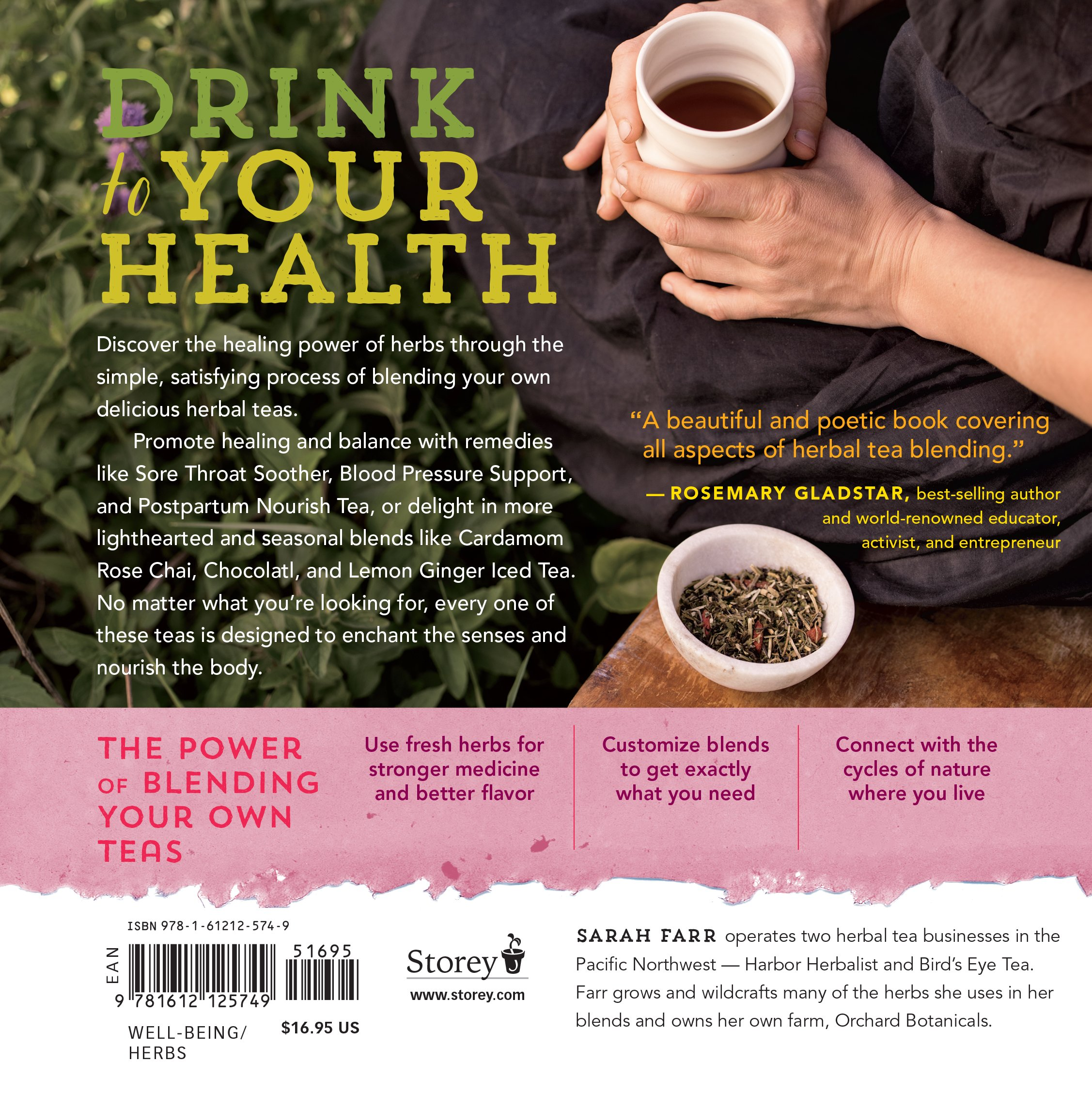 Blend gourmet herbal tea - Healing Herbal Teas Learn To Blend 101 Specially Formulated Teas For Stress Management Common Ailments Seasonal Health And Immune Support Sarah Farr