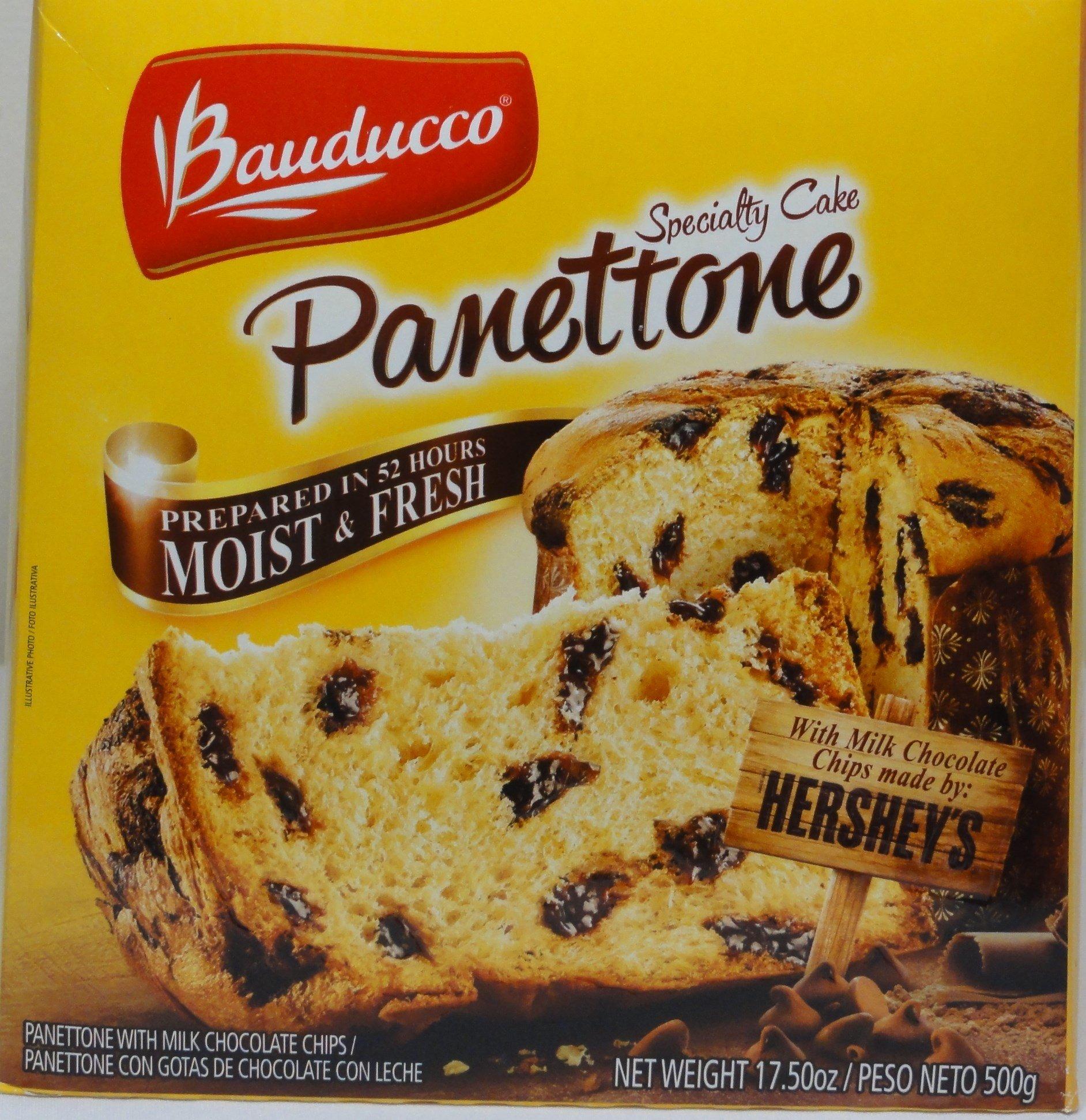 Bauducco Panettone Hershey 17.5 oz.(UNIT)
