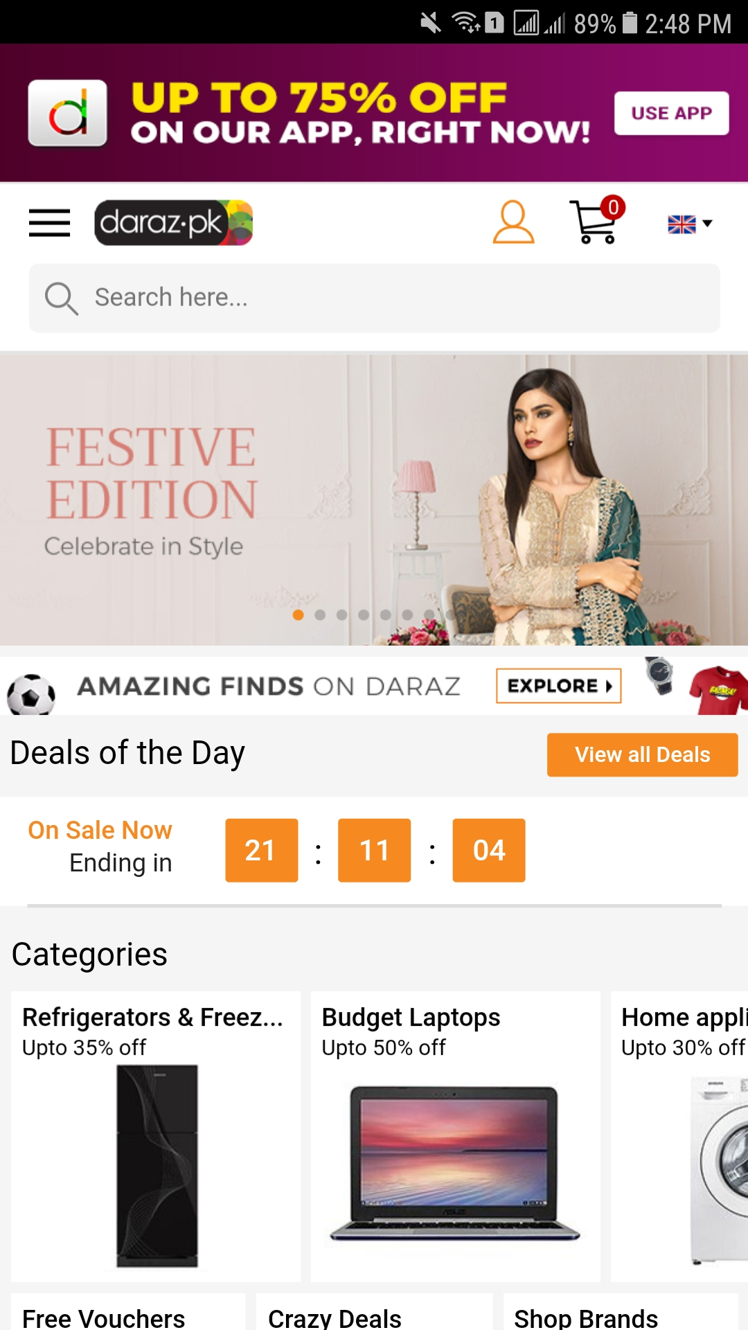 Amazon Com Daraz Pk Mobile Appstore For Android