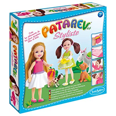 SentoSphere Patarev Styliste Clay Fashion Design Kit - Alix & Ines: Toys & Games