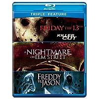 Deals on Friday the 13th, Nightmare on Elm St,  Freddy V Jason Blu-ray