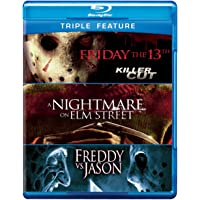 Friday the 13th / Nightmare on Elm St / Freddy Vs (Triple-Feature) [Blu-ray]