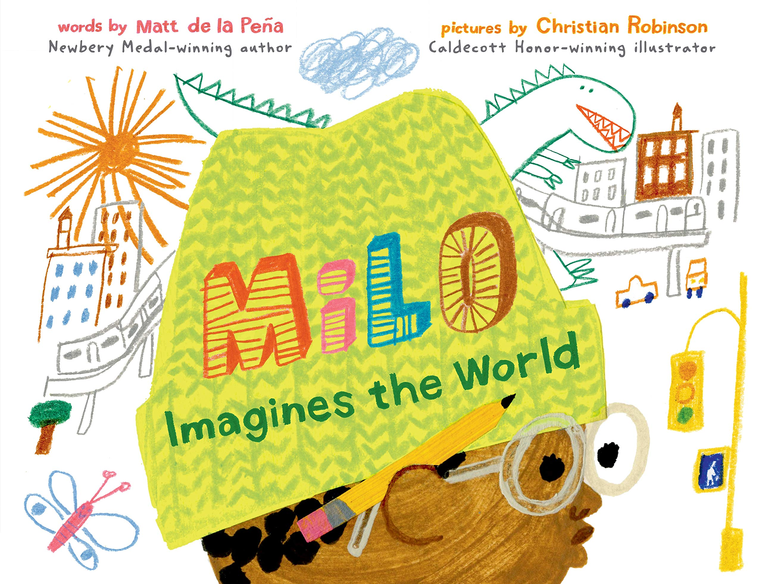 Milo Imagines the World: de la Peña, Matt, Robinson, Christian:  9780399549083: Amazon.com: Books