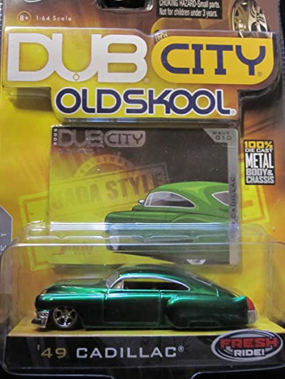 49 Cadillac (green) Dub City Old Skool By Jada