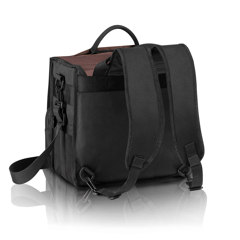 Technics Backbag Borsa Marrone//Beige