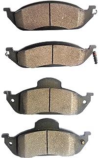 Centric 2-Wheel Set Brake Pad Sets Front Driver /& Passenger Side New 102.08040