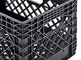 Muscle Rack PMK24QTB-3 24 Quart 3 Pack Black