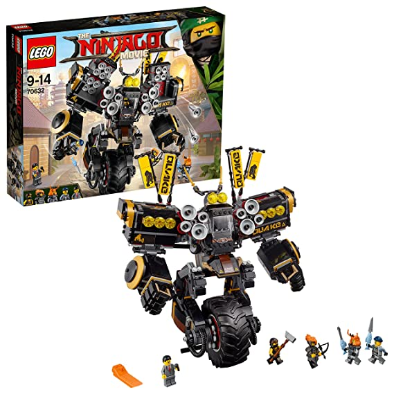 LEGO Ninjago - Robot sísmico (70632)