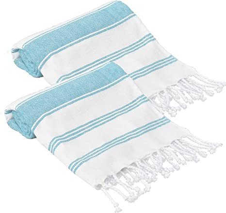 Beach Towel Stonewash 100/% Turkish Cotton Peshtemal B/&W Turkish Towel