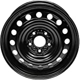 Dorman 939-151 Steel Wheel (16x6 5in ) for Select Mitsubishi Models, Black