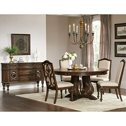 Amazon Com A Line Furniture La Bauhinia French Antique Carved Wood