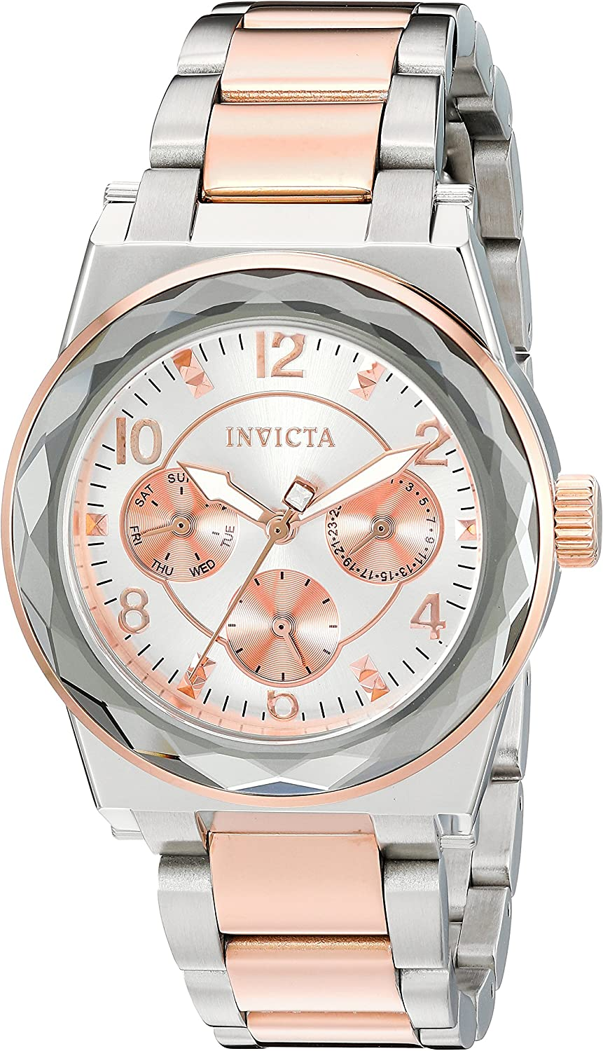 Invicta Women s Angel Quartz Watch with Stainless-Steel Strap, Two Tone, 20 Model 22109