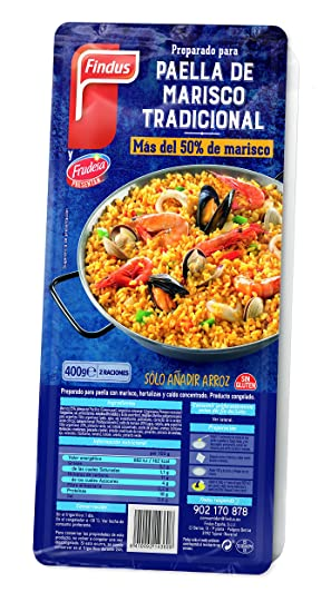 Findus Preparado Paella Marisco - 400 gr