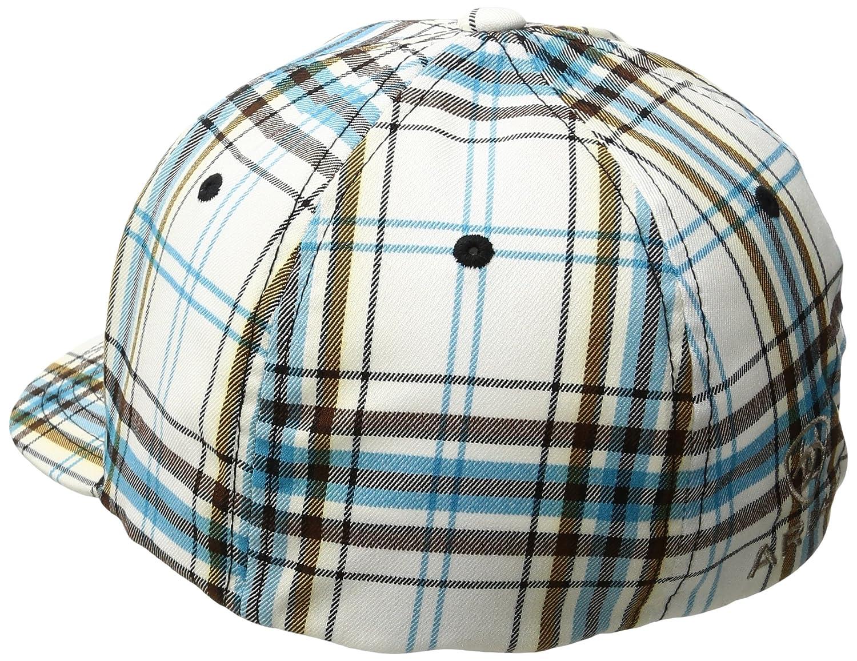 d70052b4ab1 Ariat Men s Blue Plad Corner Logo Hat at Amazon Men s Clothing store