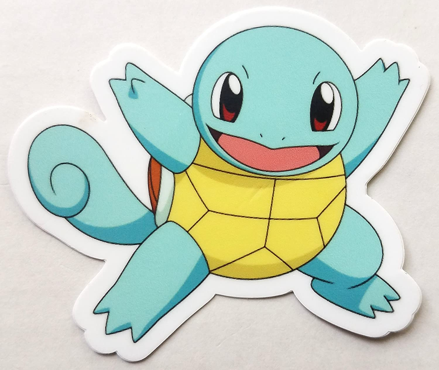 Party Hard Squirtle - Vinyl Sticker