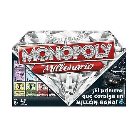 Monopoly Hasbro Gaming Millonario 98838105 Amazon Es Juguetes Y