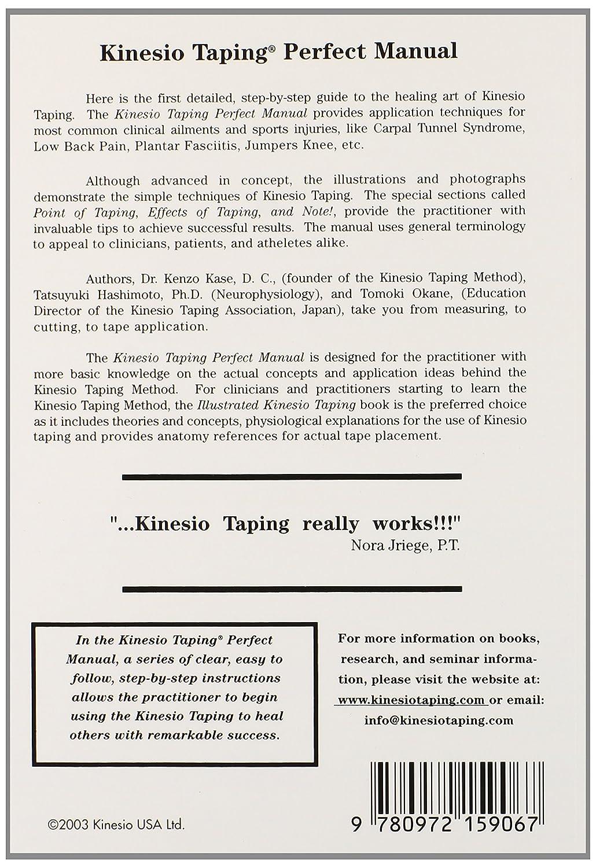 amazon com kinesio taping perfect manual kenzo kase health rh amazon com kinesio taping manual kinesio taping manual pdf download