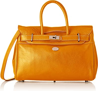 MAC DOUGLAS Femme- Sac porte main- PYLA-BUNI, Orange (AM), XS