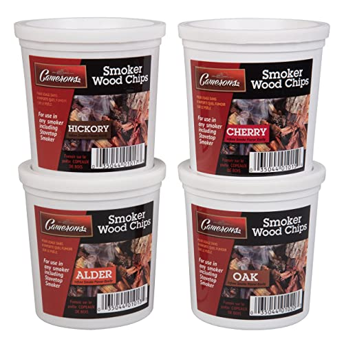 Camerons Wood Smoking Chips- Wood Smoker Chips Value Pack