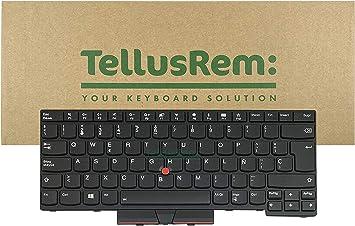 Teclado de respuesto Español retroiluminado para Lenovo Thinkpad T470 T480