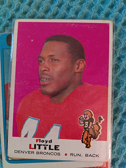 7b968a14ed3 Amazon.com  Floyd Little - 1969 Topps  251 - Denver Broncos   Hall of Famer    Syracuse  Everything Else