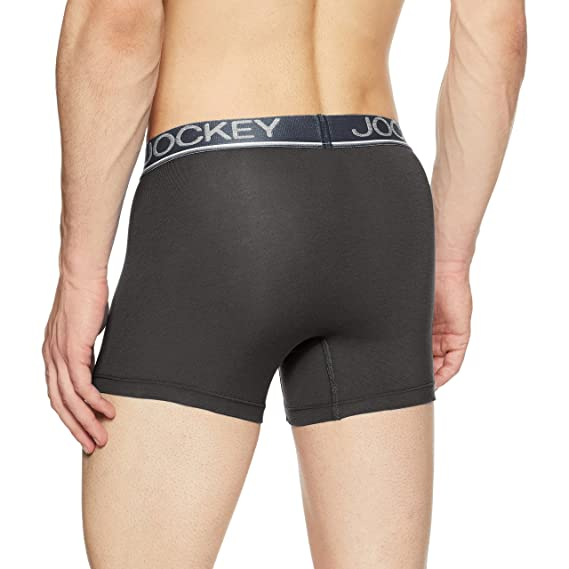 Jockey Men S Solid Cotton Trunks Amazon In Clothing Accessories
