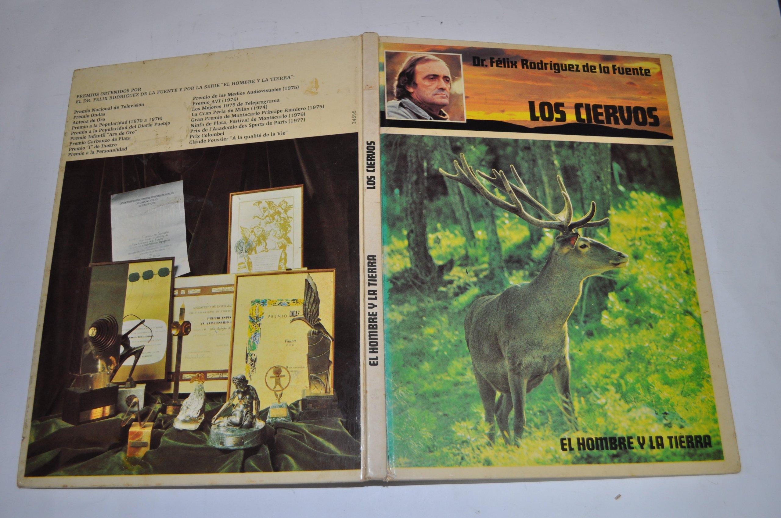El hombre y la Tierra: Los ciervos: Amazon.es: Dr. Félix ...