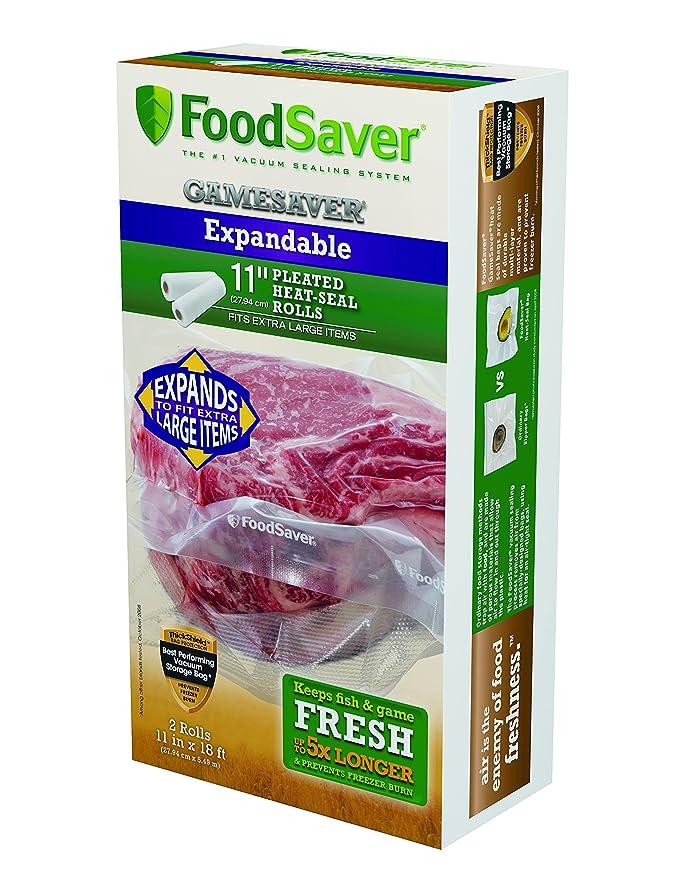 Bolsas de vacío FoodSaver ampliable rollos: Amazon.es: Hogar