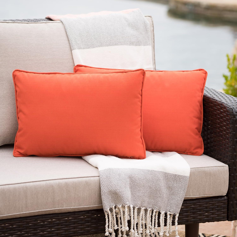 Christopher Knight Home 300755 Coronado CKH Outdoor Pillow Orange