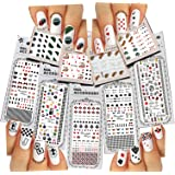 Nail Art Water Slide Tattoos ♥ Fun Designs: Playing Cards, etc. ♥ For a Fun Manicure 9 - Pack /PLI/