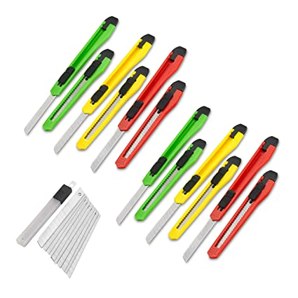 Amazon.com: Fixson - Cuchillo multiusos (0.354 in, cuchillas ...