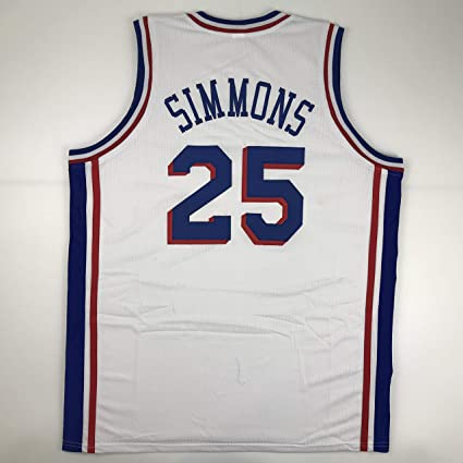 db789008618 Unsigned Ben Simmons Philadelphia White Custom Stitched Basketball Jersey  Size Men s XL New No Brands