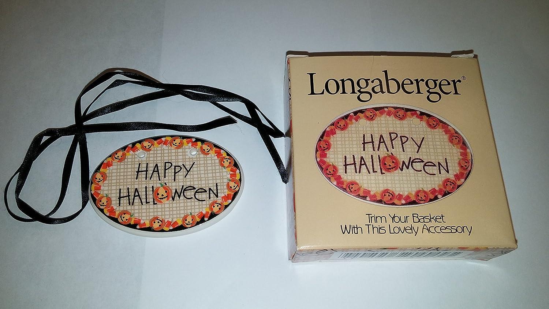 Amazon.com : Longaberger 1999-2000 Happy Halloween Tie-On : Other ...